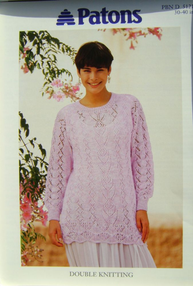 Patons Knitting Pattern 5121